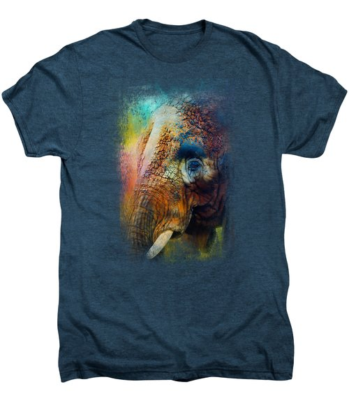 Colorful Expressions Elephant Men's Premium T-Shirt
