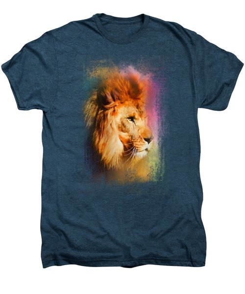 Colorful Expressions Lion Men's Premium T-Shirt