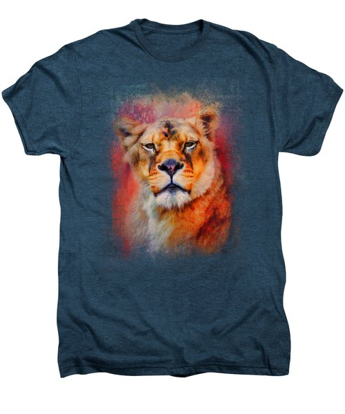Colorful Expressions Lioness Men's Premium T-Shirt