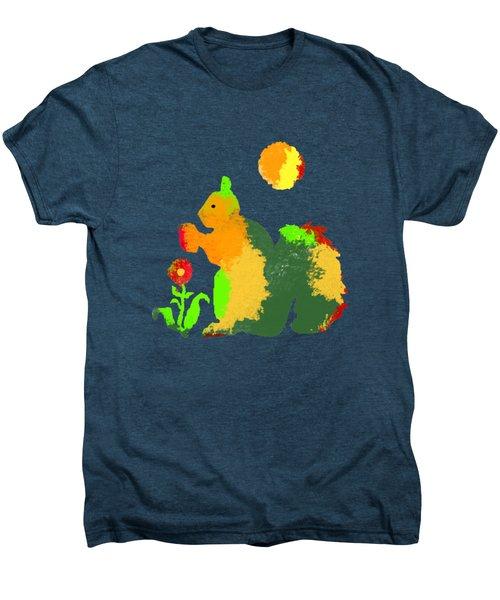 Colorful Squirrel 1 Men's Premium T-Shirt