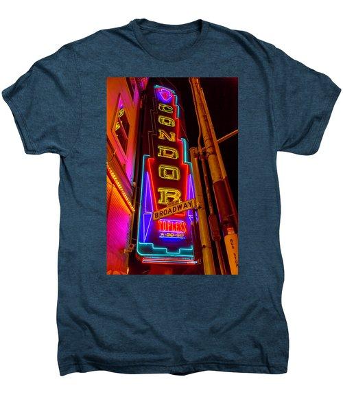 Condor Neon On Broadway Men's Premium T-Shirt