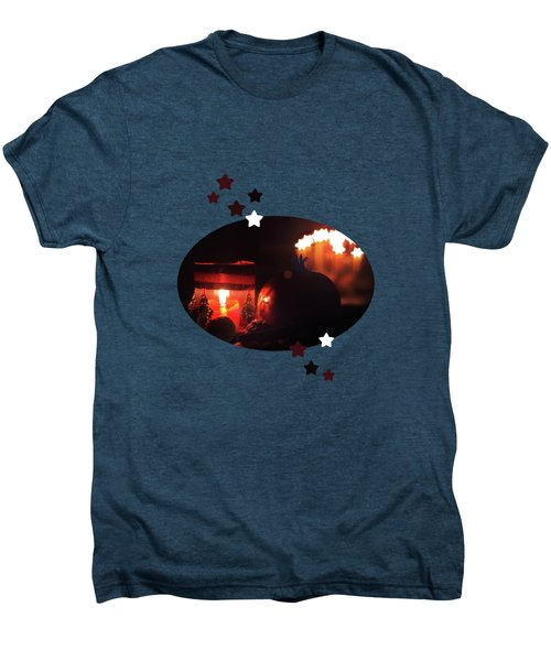 Cozy Advent Men's Premium T-Shirt by AugenWerk Susann Serfezi