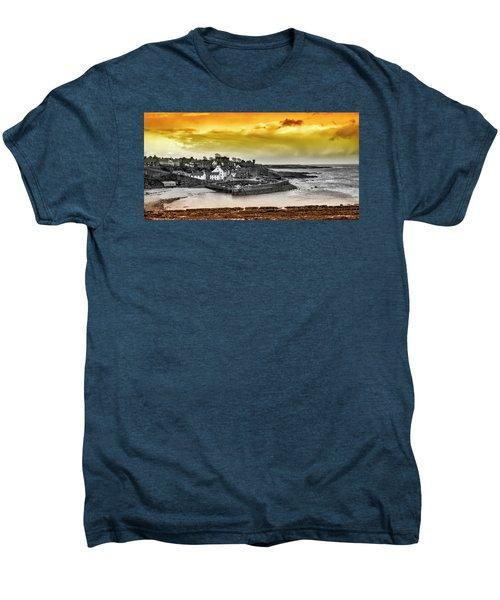 Crail Harbour Men's Premium T-Shirt by Jeremy Lavender Photography