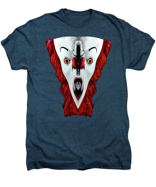 Creepy Clown 01215 Men's Premium T-Shirt