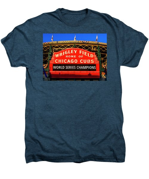 Cubs Win World Series Men's Premium T-Shirt