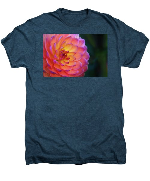 Dahlia Portrait Men's Premium T-Shirt