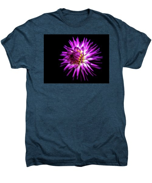 Dahlia Starburst Men's Premium T-Shirt