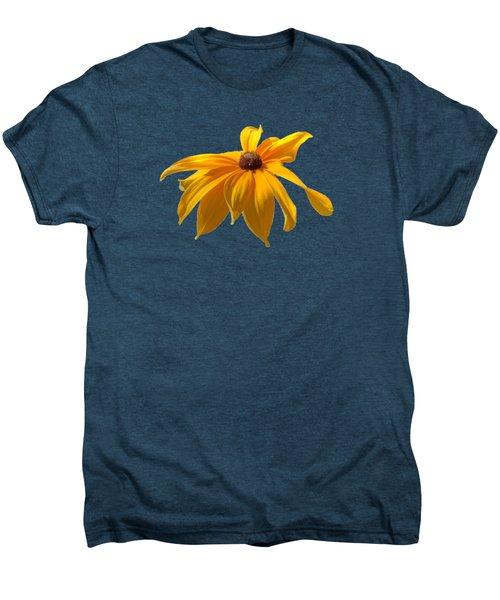Daisy - Flower - Transparent Men's Premium T-Shirt