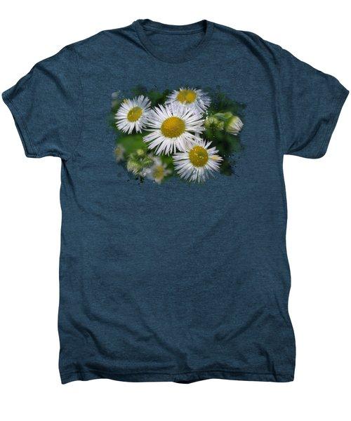 Daisy Watercolor Art Men's Premium T-Shirt