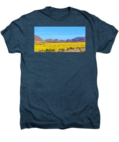 Death Valley Super Bloom 2016 Men's Premium T-Shirt by Peter Tellone