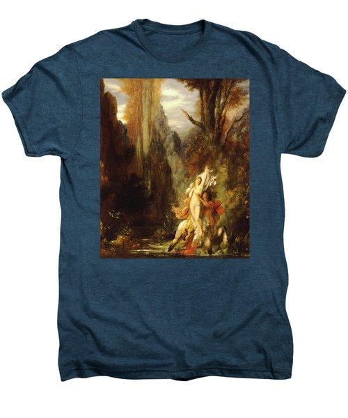 Dejanira  Autumn Men's Premium T-Shirt by Gustave Moreau