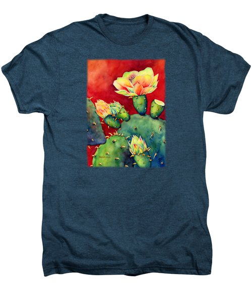 Desert Bloom Men's Premium T-Shirt