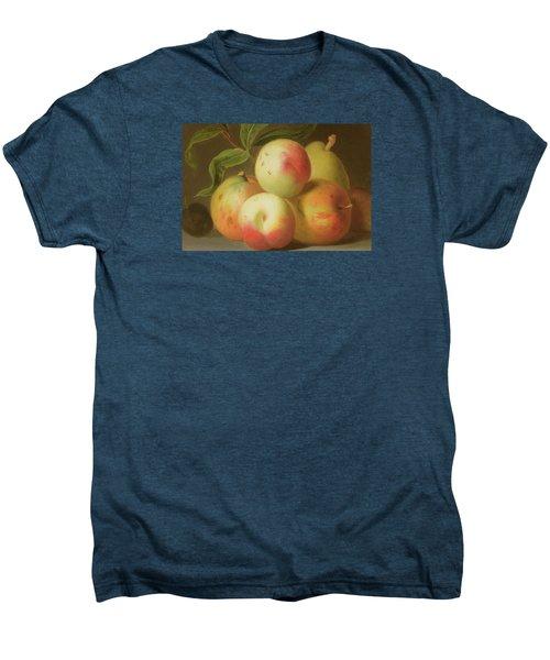 Detail Of Apples On A Shelf Men's Premium T-Shirt