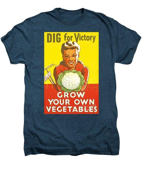 Dig For Victory Men's Premium T-Shirt