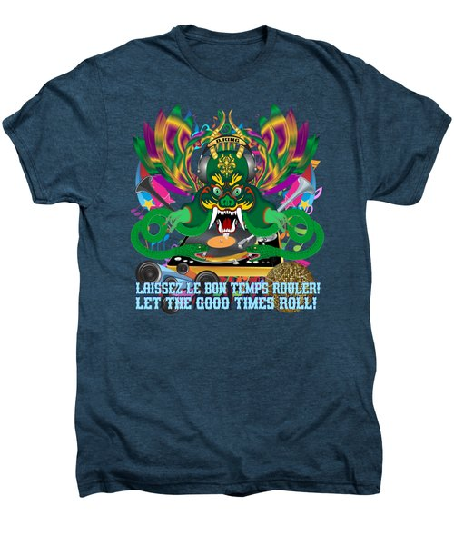 Dj Dragon6 King All Products Men's Premium T-Shirt by Bill Campitelle
