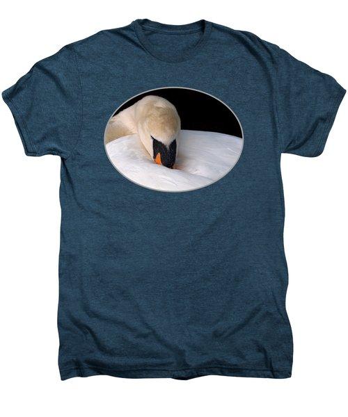 Do Not Disturb - Orange Men's Premium T-Shirt by Gill Billington