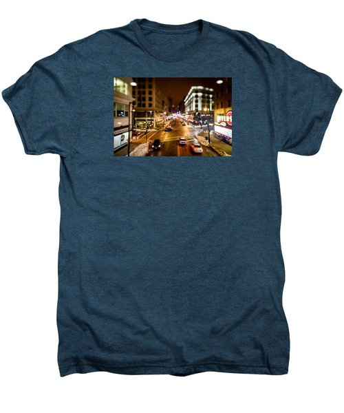 Downtown In The Itty-bitty City Men's Premium T-Shirt