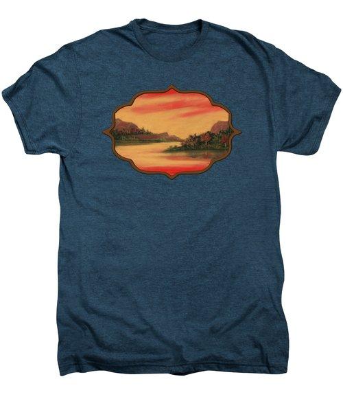Dragon Sunset Men's Premium T-Shirt