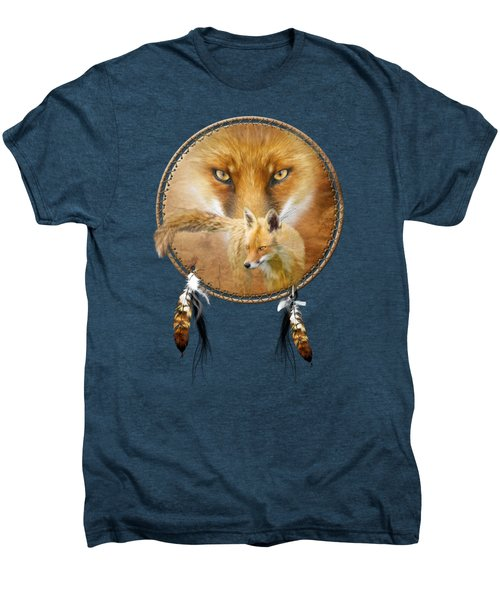 Dream Catcher- Spirit Of The Red Fox Men's Premium T-Shirt