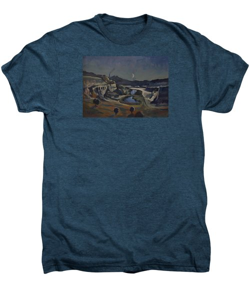 Dusk Over The Sint Pietersberg Men's Premium T-Shirt by Nop Briex