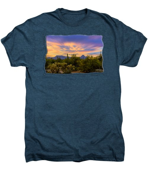 Easter Sunset H18 Men's Premium T-Shirt by Mark Myhaver