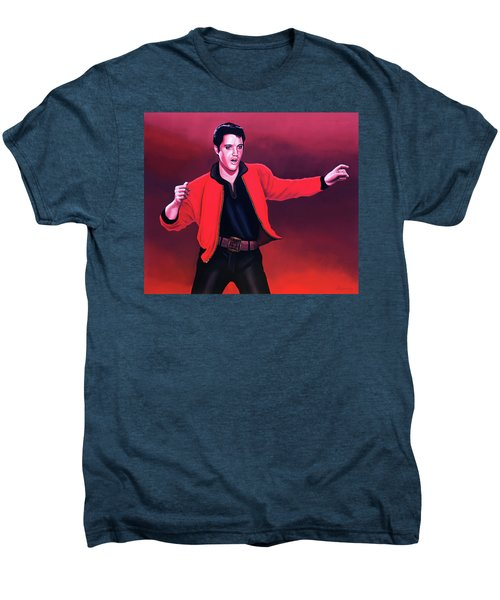 Elvis Presley 4 Painting Men's Premium T-Shirt