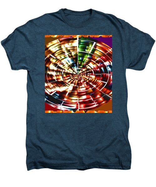 Energy Aura Cleaning Wheel In Motion Yoga Meditation Mandala By Navinjoshi At Fineartamerica.com Men's Premium T-Shirt