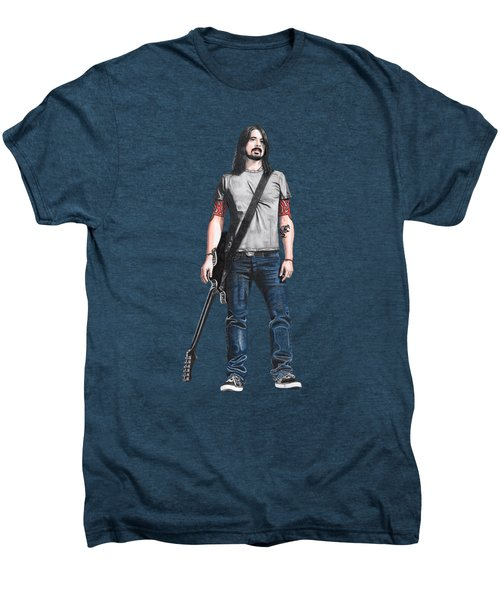 Extraordinary Hero Cutout Men's Premium T-Shirt