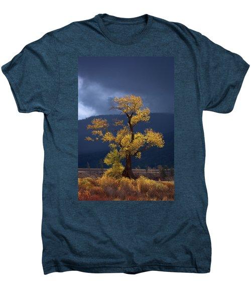 Facing The Storm Men's Premium T-Shirt by Edgars Erglis
