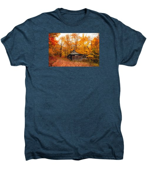 Fall At The Sugar House Men's Premium T-Shirt