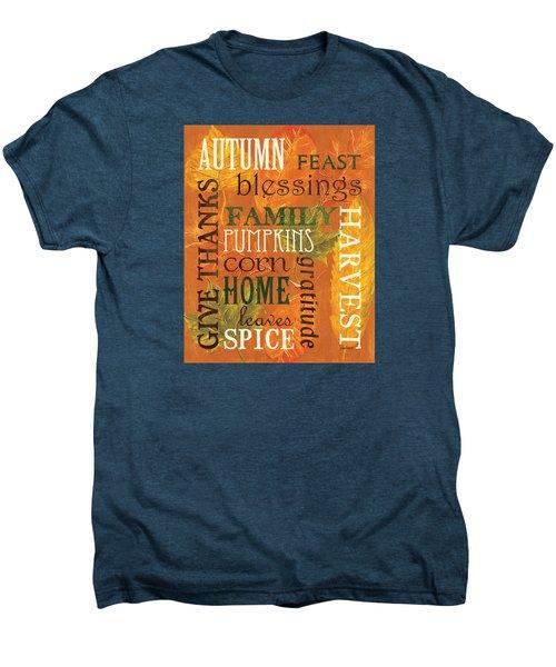 Fall Typography 1 Men's Premium T-Shirt