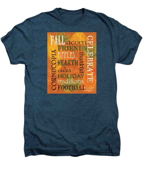 Fall Typography 2 Men's Premium T-Shirt