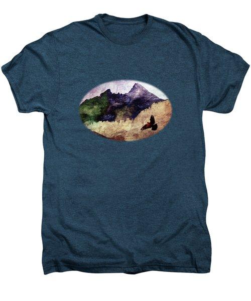 Fly High Men's Premium T-Shirt by AugenWerk Susann Serfezi