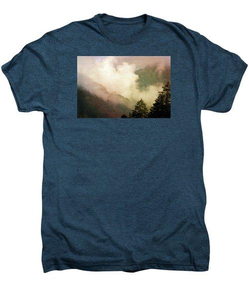 Fog Competes With Sun Men's Premium T-Shirt by AugenWerk Susann Serfezi