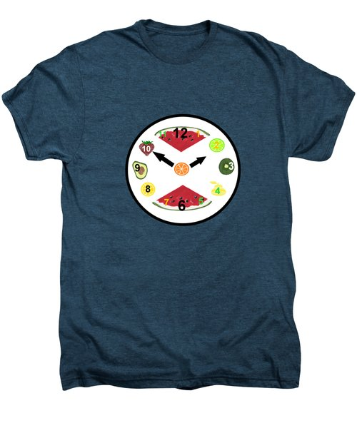 Food Clock Men's Premium T-Shirt