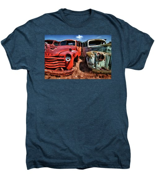 Ford And Chevy Standoff Men's Premium T-Shirt