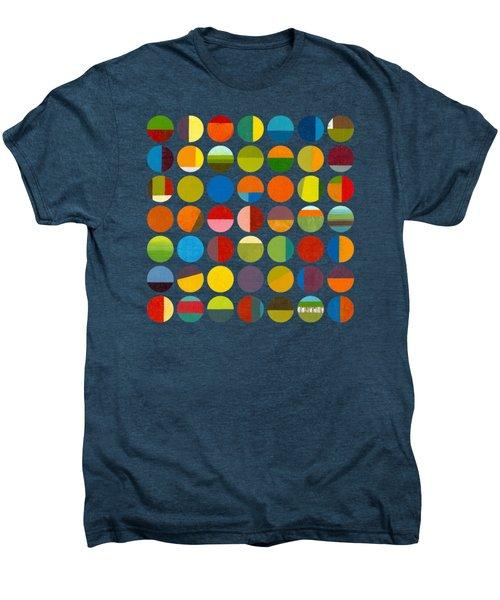 Forty Nine Circles Men's Premium T-Shirt by Michelle Calkins