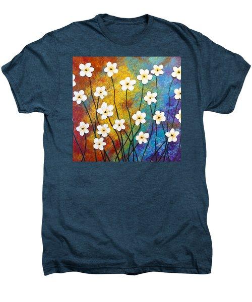 Frangipani Explosion Men's Premium T-Shirt