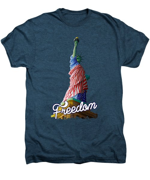 Queen Liberty Men's Premium T-Shirt