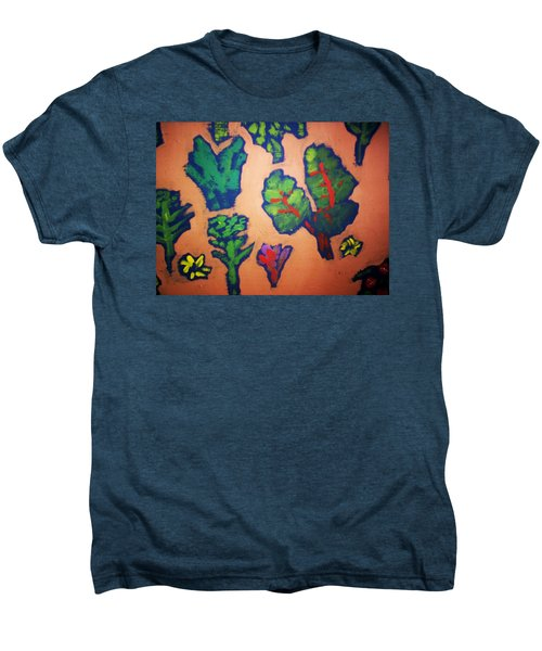 Men's Premium T-Shirt featuring the painting From The Earth 2 by Winsome Gunning