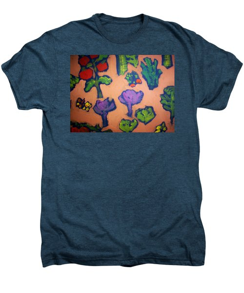 Men's Premium T-Shirt featuring the painting From The Earth by Winsome Gunning