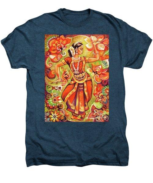 Ganges Flower Men's Premium T-Shirt by Eva Campbell