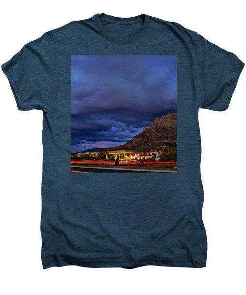 Gathering Storm Op51 Men's Premium T-Shirt by Mark Myhaver