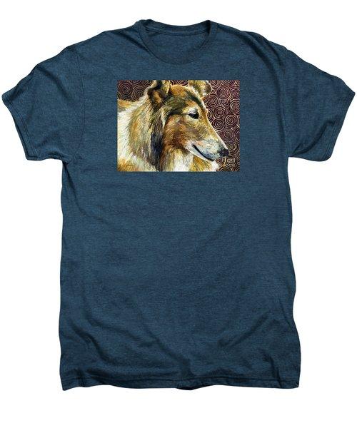 Gentle Spirit - Reveille Viii Men's Premium T-Shirt by Hailey E Herrera