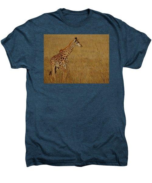Giraffes On A Walk 2 Men's Premium T-Shirt