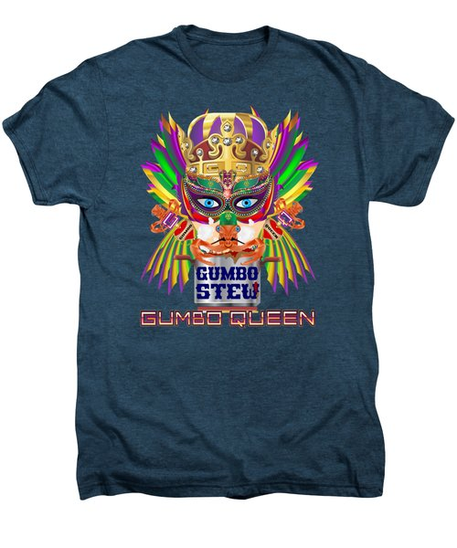 Gumbo Queen 1 All Products  Men's Premium T-Shirt by Bill Campitelle