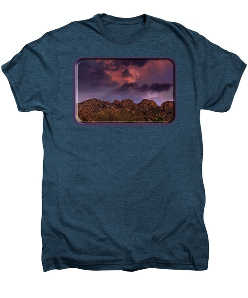 Hallow Moon Men's Premium T-Shirt by Mark Myhaver