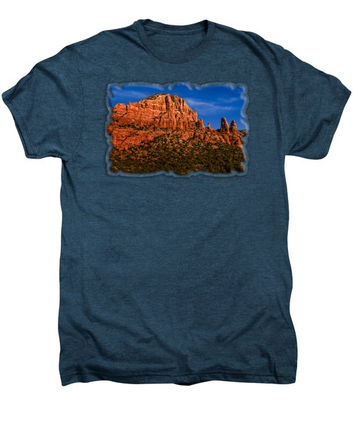 Her Majesty Men's Premium T-Shirt by Mark Myhaver