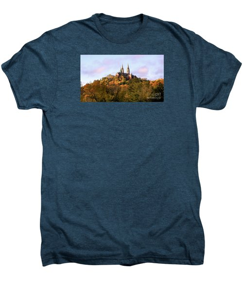 Holy Hill Basilica, National Shrine Of Mary Men's Premium T-Shirt by Ricky L Jones