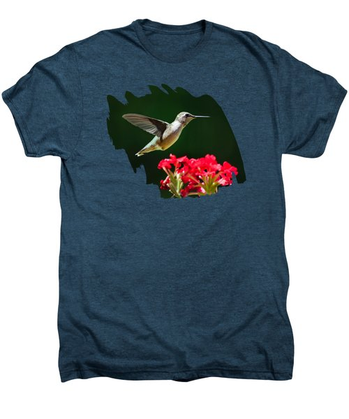 Hovering Hummingbird Men's Premium T-Shirt